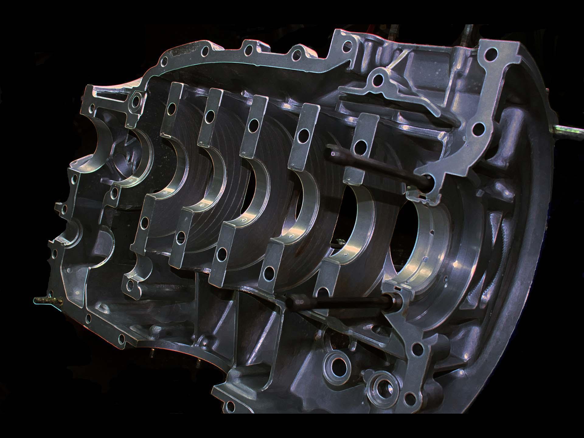 Motorgehäusebearbeitung, Instandsetzung und Optimierung