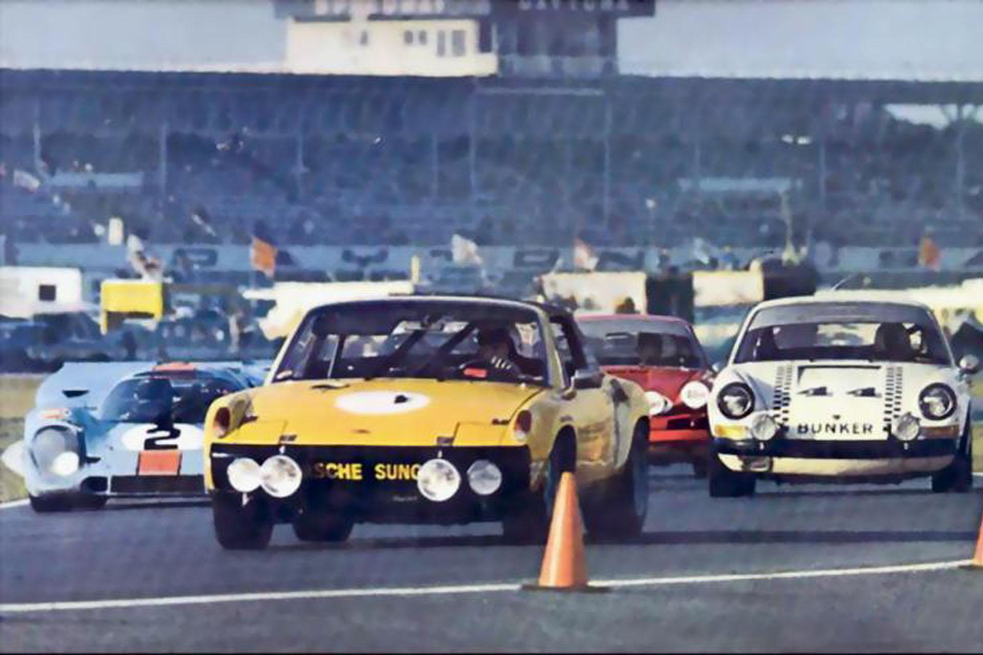 914/6 GT Nachbau des berühmten 24 hours of Daytona