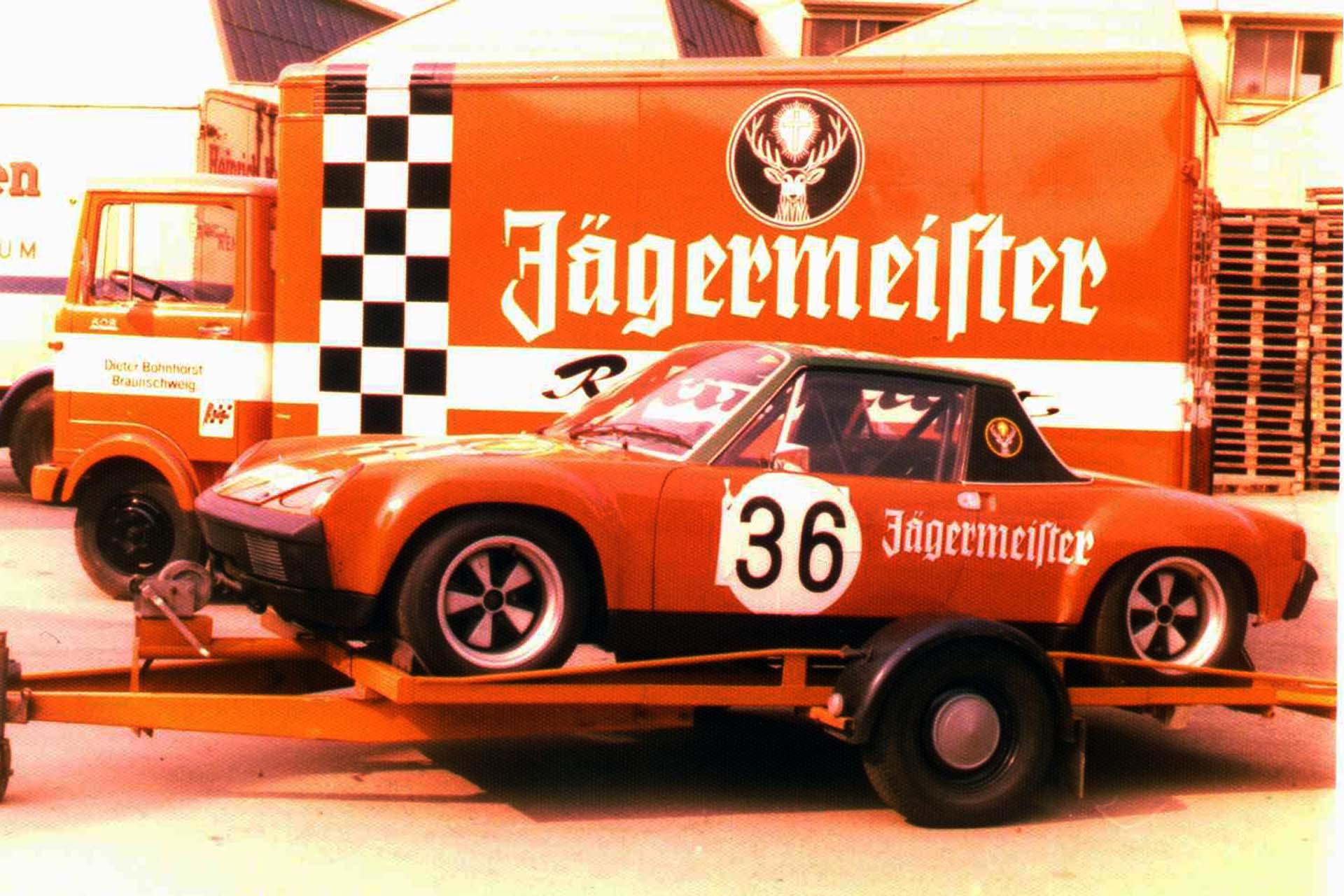 914-6 GT Original Werksrennwagen eingesetzt von Jägermeister Racing von 1972 bis 1974