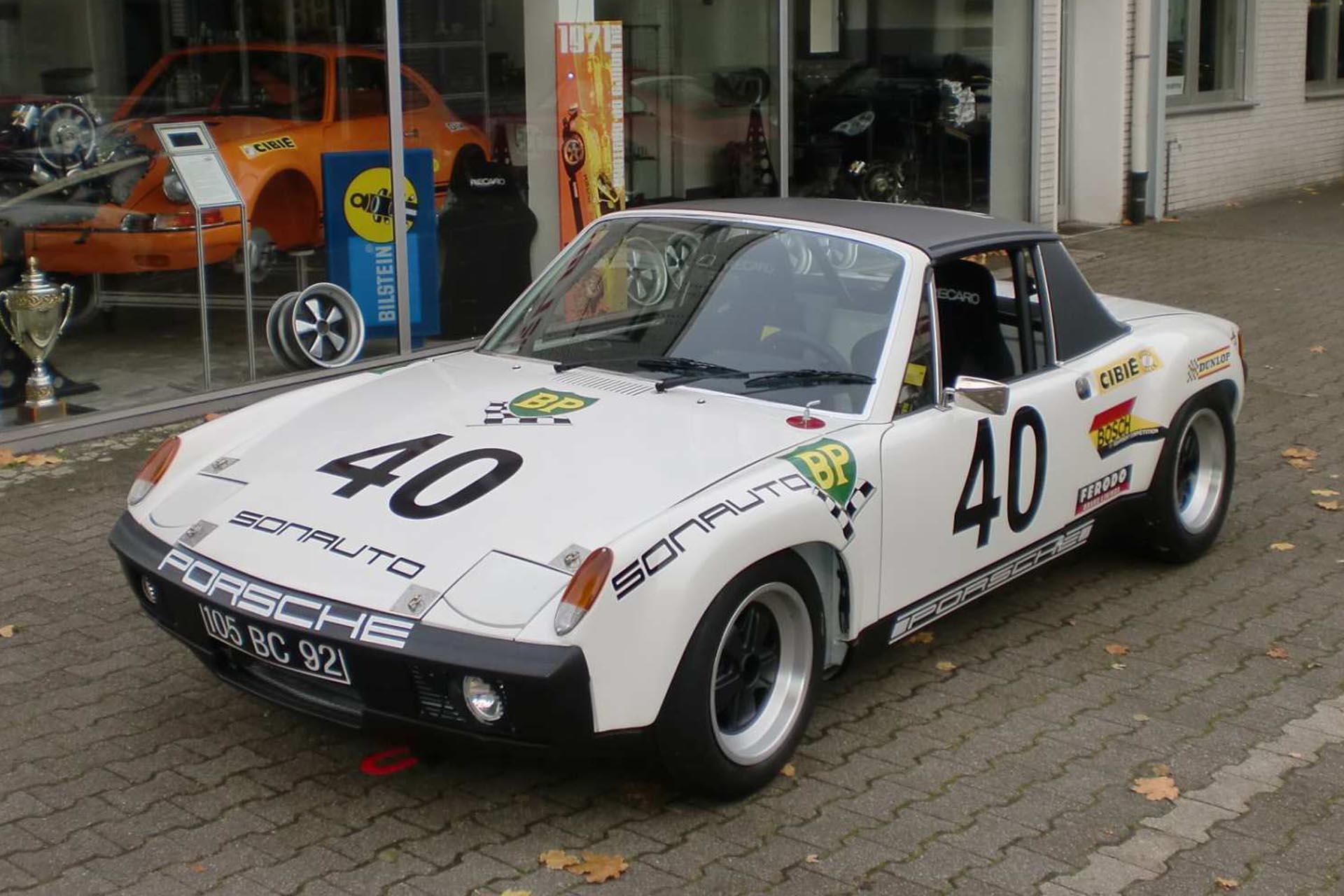 914/6 GT Nachbau des berühmten 24h von Le Mans #40