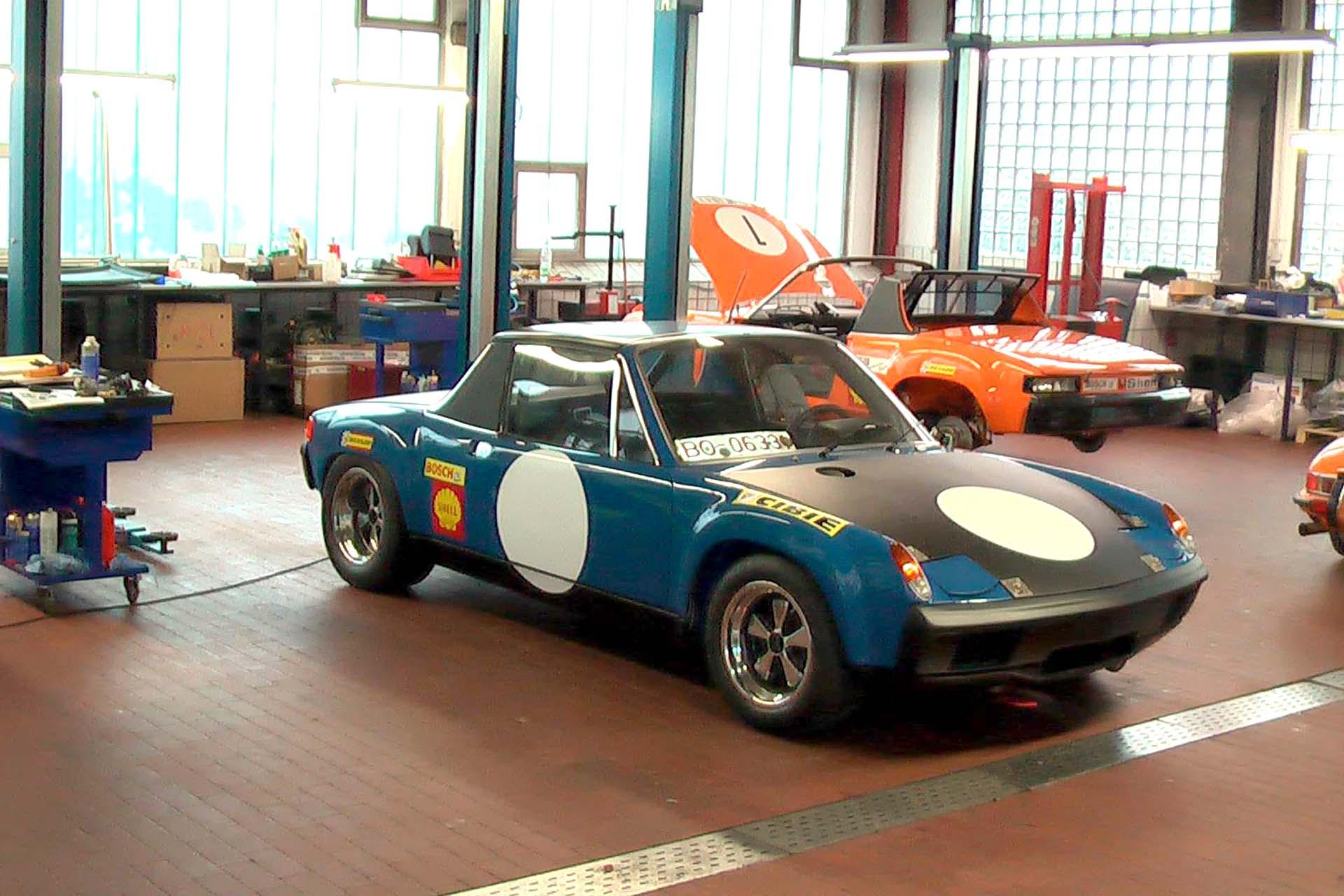 914-6 GT in Rallye Ausführung aufgebaut nach FIA