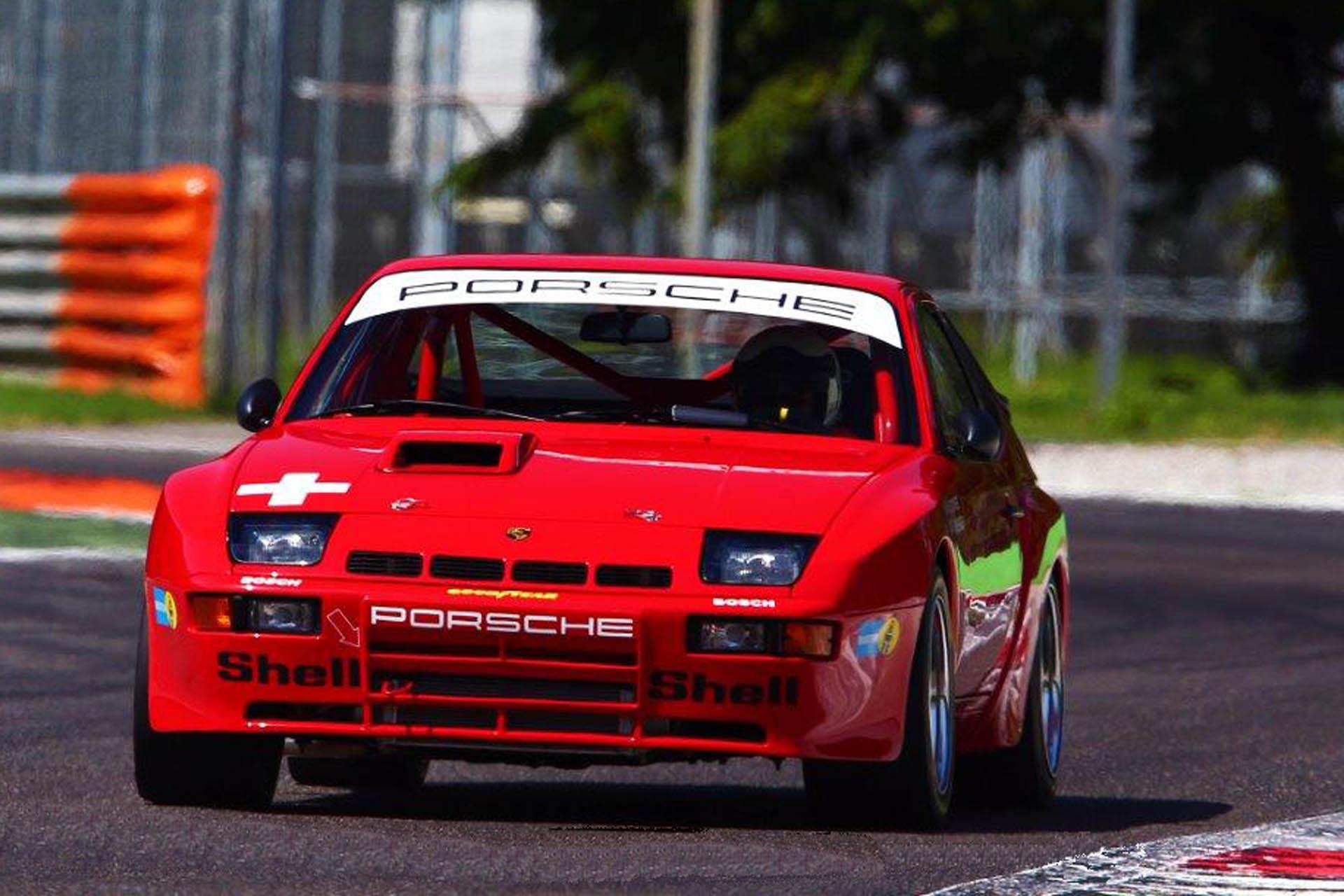 924 Turbo als Carrera GTS Wettbewerbsausführung, aufgebaut nach FIA mit HTP