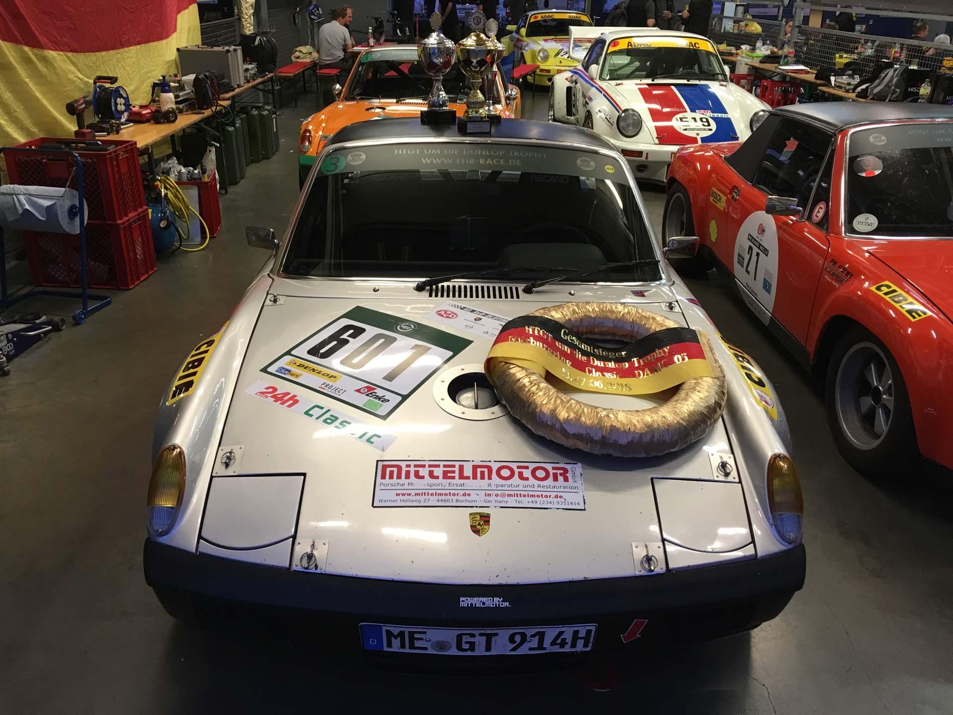 Gesamtsieg am Nürburgring