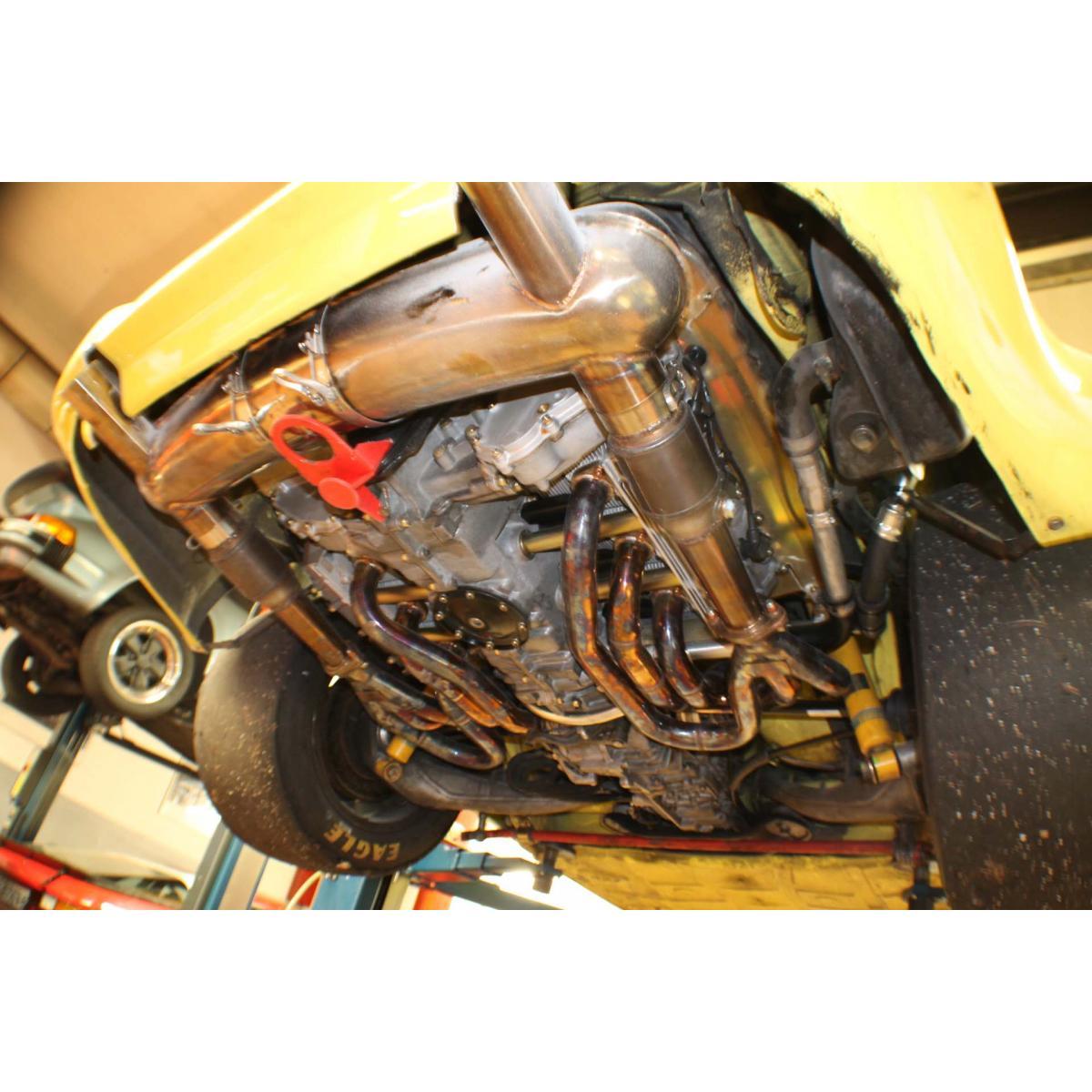 "Motor komplett, 3,0 RSR MFI ""Bullit"", 327 PS/ 326 Nm"