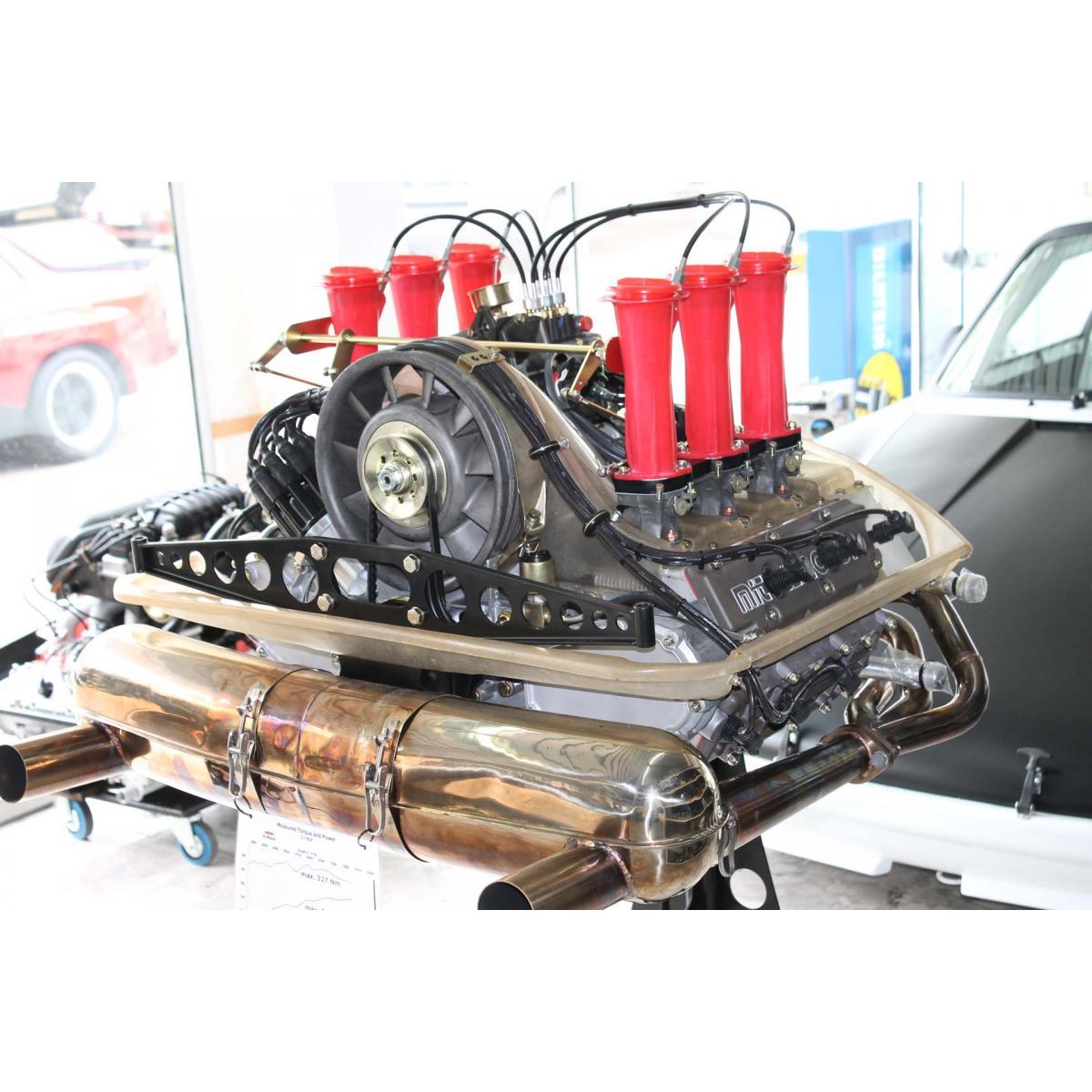 """Motor komplett, 3,0 RSR MFI """"Grüne Wiese"""", 332 PS/ 327 Nm"""