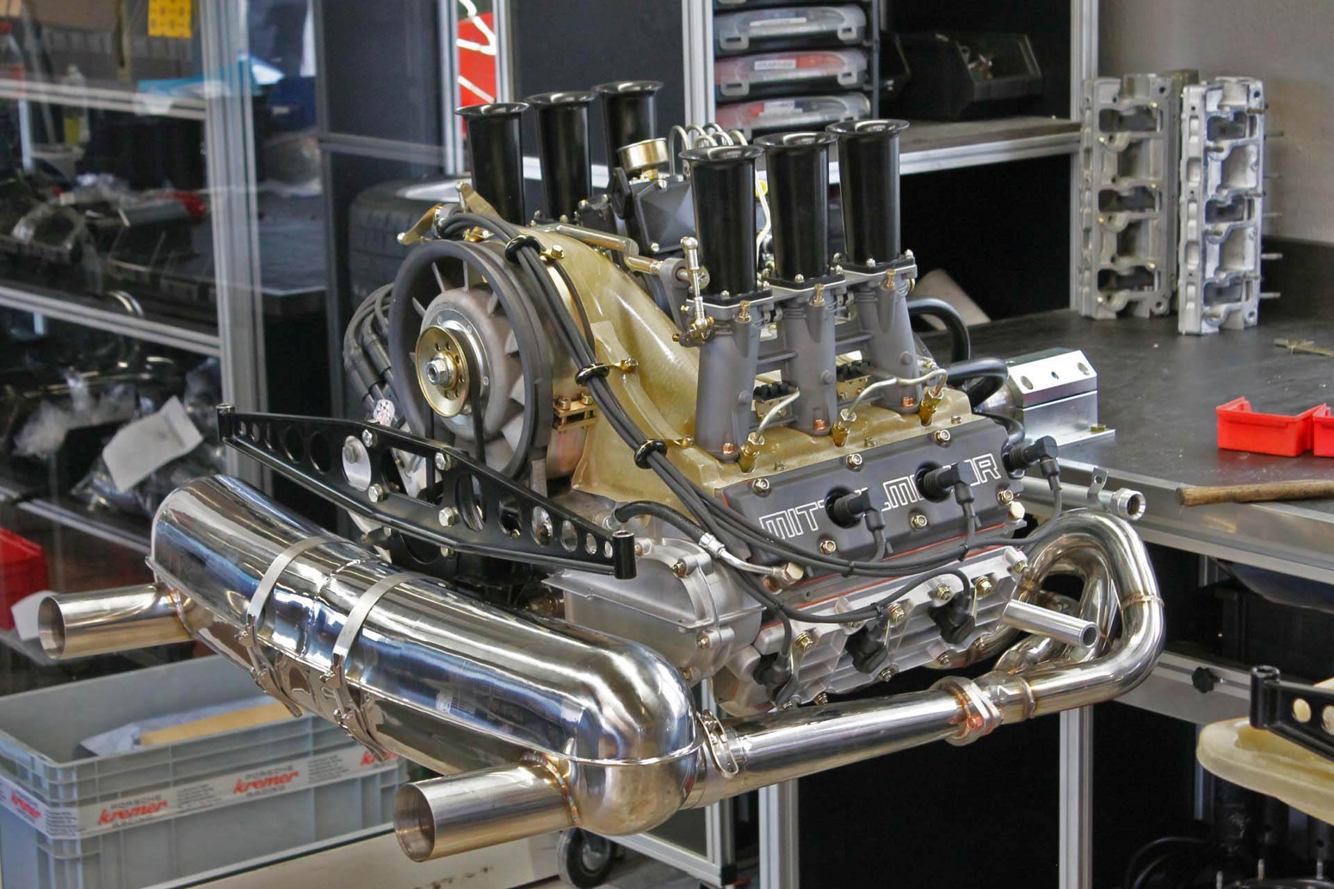"Motor komplett, 3,4 RSR ""Liberty Engine"", 342 PS/ 366 Nm"
