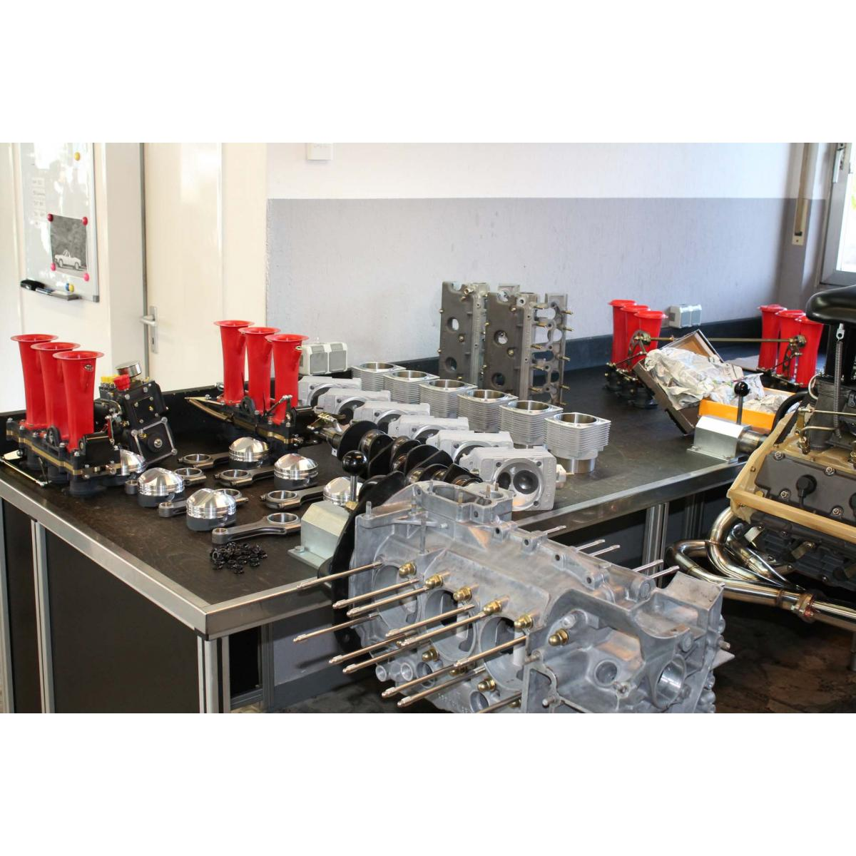 "Motor komplett, 3,0 RSR ""FIA group 4"", 352 PS/ 338 Nm"