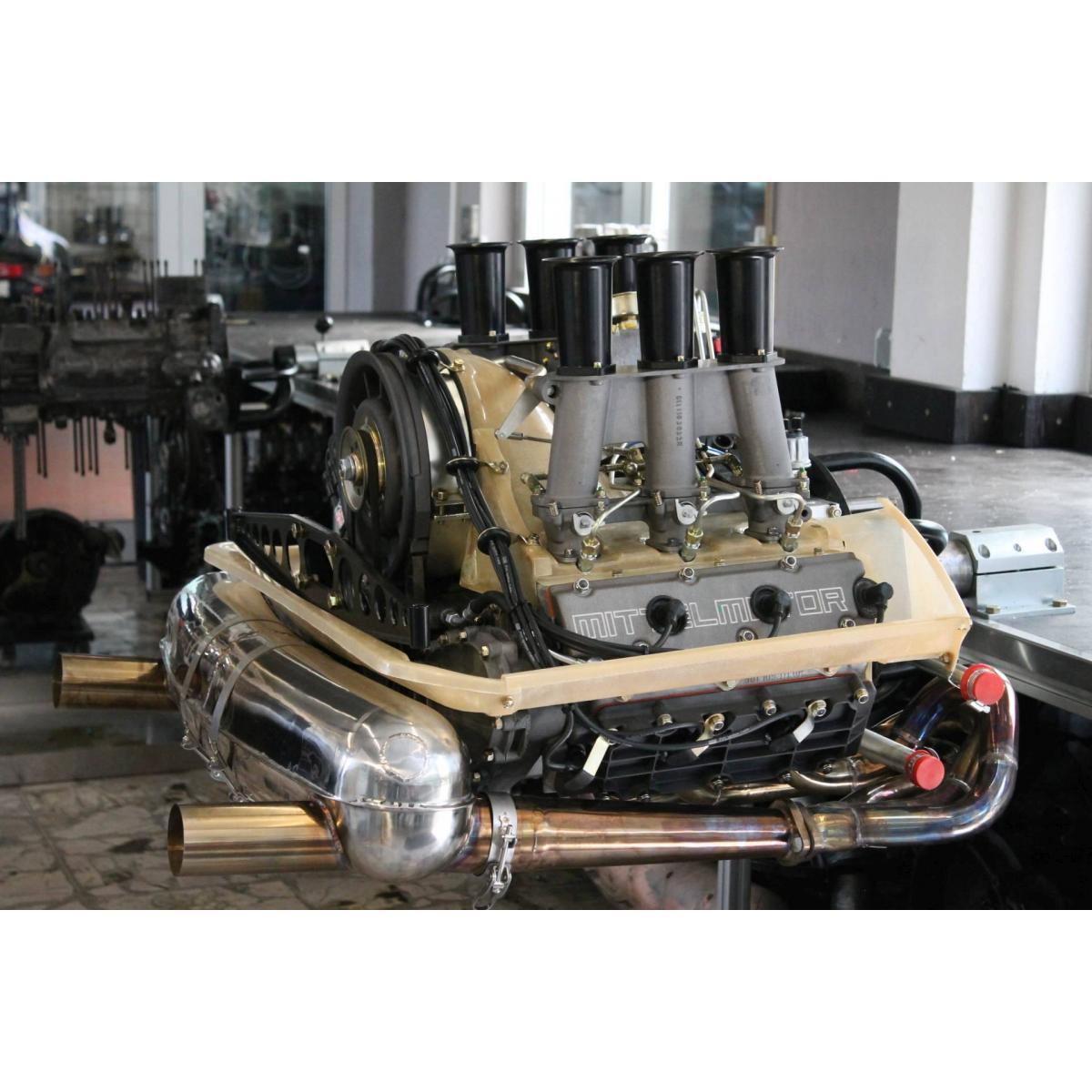 """Motor komplett, 2,3 ST (2,4), Rundstrecke, MFI, 283 PS/ 248 Nm, """"Cold Sweat"""""""