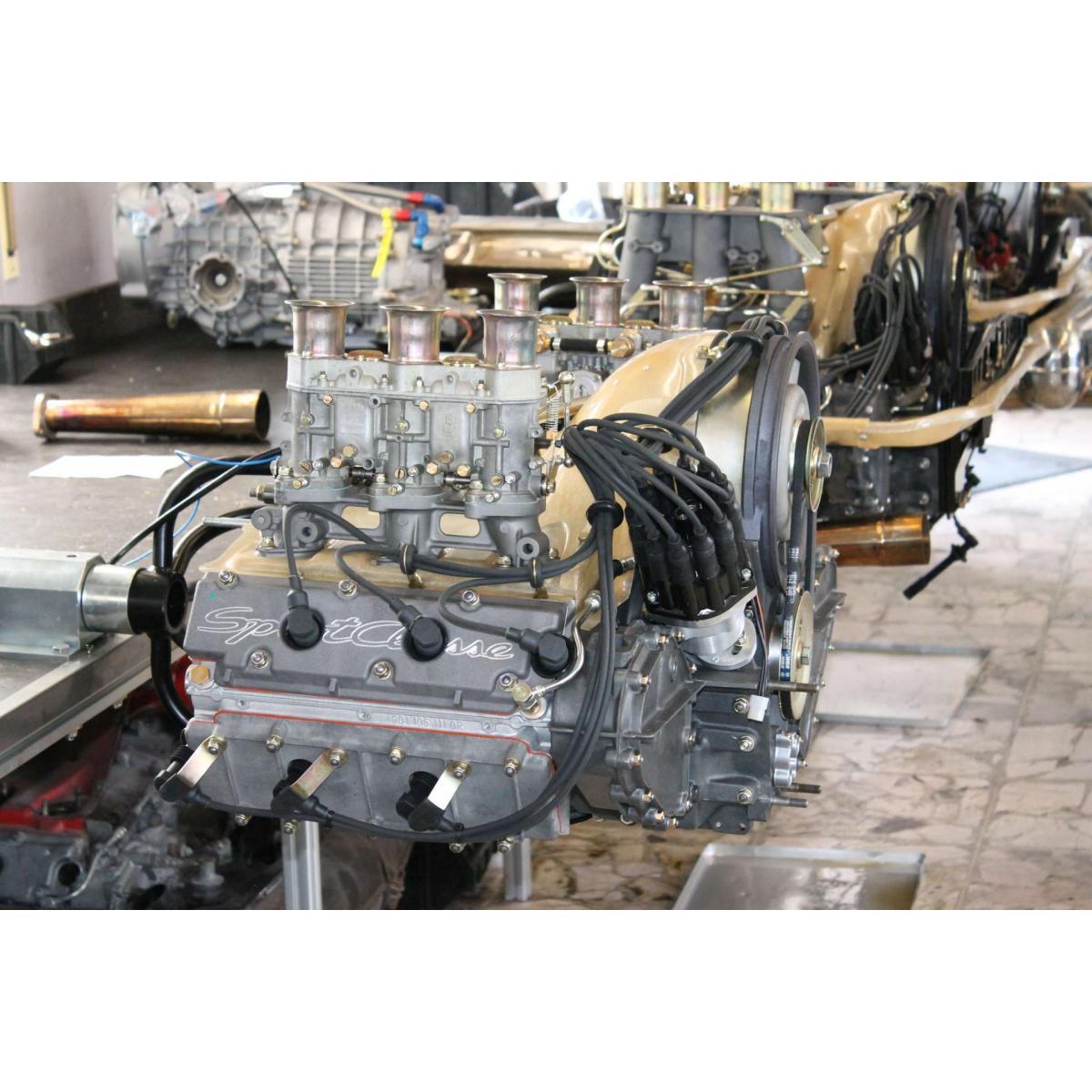 """Motor komplett, 2,8 """"Sportclasse"""", Vergaser, 265 PS/ 290 Nm"""